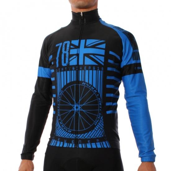 maglia manica lunga 78 blu