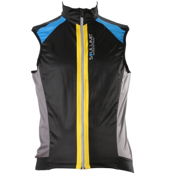 GILLET RUNNING WIND LIGHT FRONT