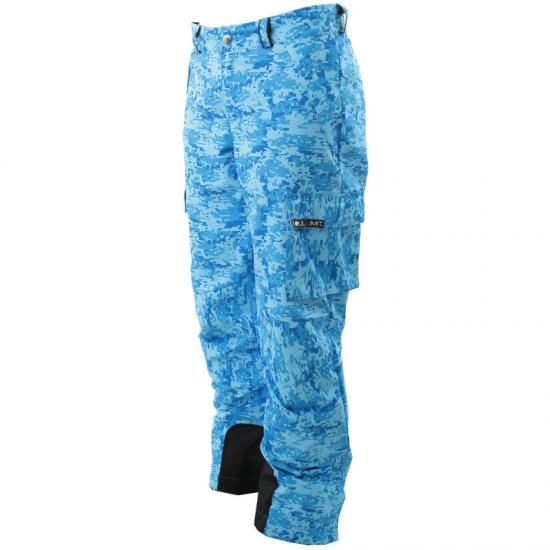 Pantaloni da sci Pizboè azzurro